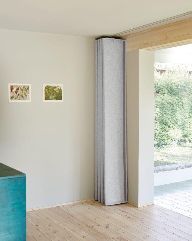 Wärmedämmvorhang, Textile Architektur, Kälteschutz