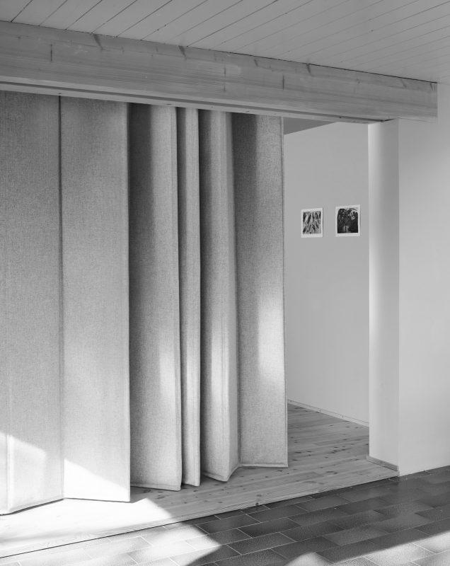Textile Architektur, Kälteschutz, Dämmvorhang
