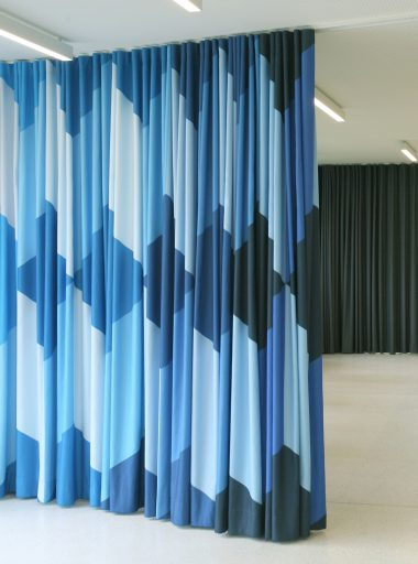 Room divisions and entrance curtain