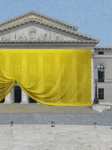 Textile Interventionen im öffentlichen Raum