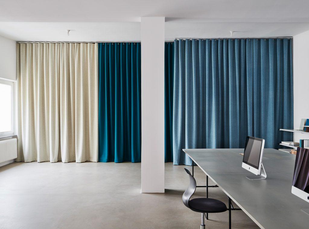 buerovorhang, Vorhang, Raumteilung
